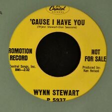 Wynn Stewart Capitol 5937 DJ Cause I Have You and That's The Only Way To Cry