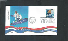 Scott 3191d Decade of 1990's Extreme Sports May 2, 2000 Fleetwood Cachet FDC