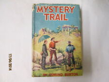 Good - Mystery Trail - Edmund Burton 1111-01-01 Dustjacket has been price-clippe