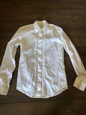 Chemise chemisier zadig et voltaire blanc t 36 ou 38 m longues coton nylon