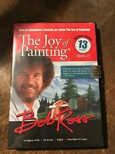 "NEW Bob Ross Joy of Painting TV Series 27 DVD ""Happy Trees"""