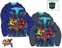 Boys Kids Children Transformers Hooded Padded Winter Jacket Coat Age 3-8 Years