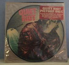 Quiet Riot Salud De Metal 1983 Disco de Imagen de Vinilo Usa Lp Excelente Estado