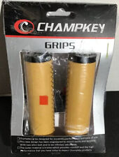 Champkey Ergonomic Leather Bicycle Grips New One Set