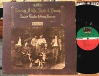 Crosby Stills Nash & Young Deja Vu Vinyl LP Atlantic SD 7200 Carry On Our House