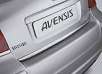 Genuine Toyota Avensis 2003-2008 Rear Chrome Garnish