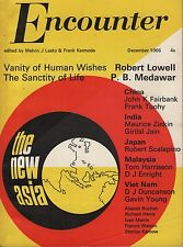 ENCOUNTER MAGAZINE (December 1966) THE NEW ASIA-INDIA-JAPAN-MALAYSIA-VIETNAM