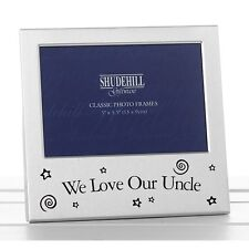 "Photo Frame -  WE LOVE OUR UNCLE  5"" x 3.5"" *NEW* Gift"