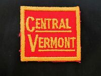 Vintage Embroidered Railroad Train Patch Central Vermont Railway RR
