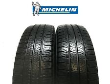 2X 225/75R16CP - MICHELIN AGILIS CAMPING **7/8mm** PART WORN TYRES - M+S - 116Q