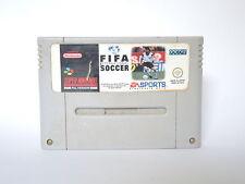 FIFA INTERNATIONAL SOCCER videogame cartridge PAL Super Nintendo SNES