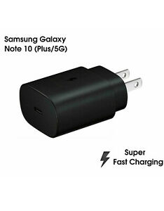 Genuine Samsung Super Fast Charger 25W Type C Wall Plug EP-TA800 Note 10/Note +