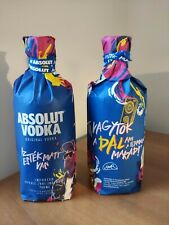 Absolut Vodka Fluor Limited edition from Hungary 0,7 L Full and sealed