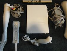 Nintendo Wii Launch Edition White Console &  Wii Fit  Fully Tested & Works Great