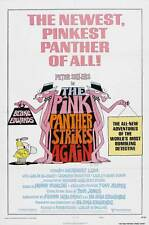 THE PINK PANTHER STRIKES AGAIN Movie POSTER 27x40 B Peter Sellers Herbert Lom