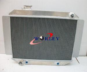 3 Rows Aluminum Radiator FOR Holden Kingwood Torana HG HQ HJ HX HZ V8 AT