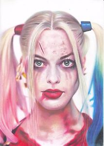Harley Quinn Suicide Squad ART PENCIL DRAWING A4