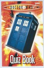Doctor Who Quiz Book Stephen Cole BBC 2005 10th Printing Paperback Edition Good