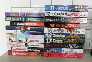JAMES PATTERSON - Women's Murder Club - Complete 1 to 20 !!
