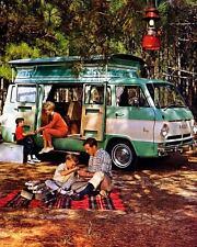 1968 Dodge A100 Van TEC Camp Wagon Camper Factory Photo c3032-FMANO5