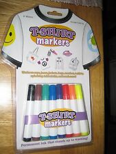 T-Shirt Markers Art Kit {Caps Jeans Bags Jackets etc} Draw Iron Wear FREEPOST