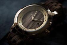 Laimer Holz Armbanduhr Damenuhr Julia 0065 Sandel Holz mit Swarovski Kristallen