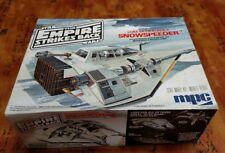 1980 MPC STAR WARS EMPIRE STRIKES BACK LUKE SKYWALKERS SNOWSPEEDER MODEL KIT
