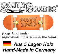 Komplett Holz Fingerskateboard OR/GO/WS SOUTHBOARDS® Handmade Wood Fingerboard
