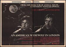 An American Werewolf In London_Orig. 1981 Trade Ad promo / poster_John Landis