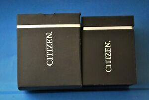 VINTAGE CITIZEN/JAPAN ORIGINAL LUXURY WATCH BOX FROM THE 90s. NOS!
