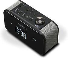 Roberts Radio ORTUS2BK DAB+/DAB/FM Alarm Clock Radio with USB Smartphone Chargin