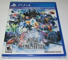 World of Final Fantasy: Day One Edition for Playstation 4 Brand New!