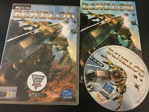 Echelon PC CD Rom Complete FREE UK P&P