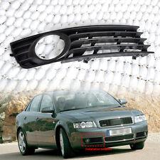 8E0807682 Black Right Insert Bumper Fog Light Grille For 2002-2005 Audi A4 B6