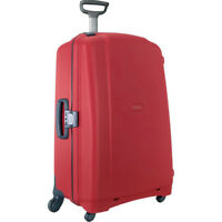 "Samsonite F'Lite GT 31"" Spinner Zipperless Suitcase (Red)"
