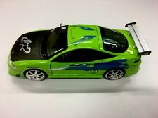 JADA Fast And Furious Brian's Mitsubishi Eclipse1:24 Green Diecast Car