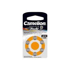Knopfbatterien Hörgerätebatterie Camelion A13 0%25 Mercury