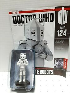 BBC EAGLEMOSS Dr Who Issue 124 New The White Robots