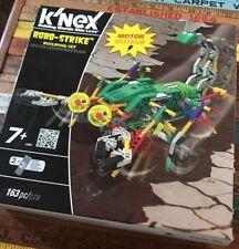 K'NEX Robo-Strike Building Set with Motor New Sealed