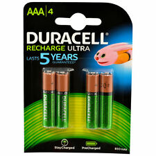 4x Duracell Recharge Ultra Akku AAA Hr03 Precharged