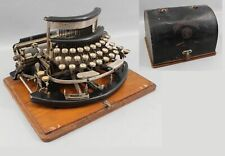 Rare 1915 Antique Imperial B Curved Keyboard Typewriter w/ Cover, NR