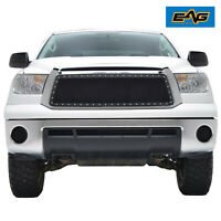 EAG Fits 2010-2013 Toyota Tundra Grille Rivet Black Steel Wire Mesh Insert