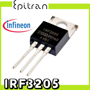 Mosfet power transistor transistore di potenza IRF3205 IRF3205PBF tipo canale n