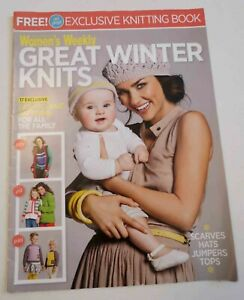 Knitting Book - Womens Weekly Great Winter Knits