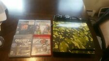 Sony PlayStation 3 Slim PS3 120GB Game Console CECH-2001A w/controller and games