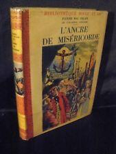Pierre Mac Orlan: L'ancre de miséricorde (ill de Pierre Rousseau) rouge et or