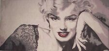 """MARILYN MONROE 82CM X 40CM, 32"""" X 16"""" FULLY LINED BELGIAN TAPESTRY WALL HANGING"""