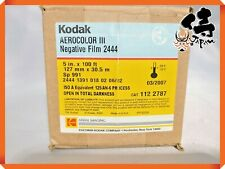 ◉UNUSED◉ KODAK AEROCOLOR III NEGATIVE FILM 2444 127MM NOT OPEN THE BOX