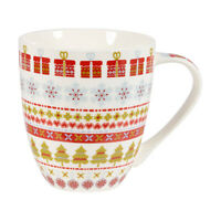 Churchill The Caravan Trail Snowflake Christmas Mug