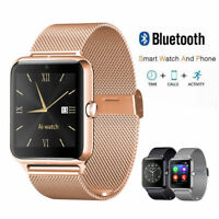 Premium SmartWatch Z60 Bluetooth Uhr iOS Android iPhone Samsung SIM Kamera Handy